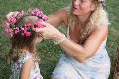 Helenka s vnučkou